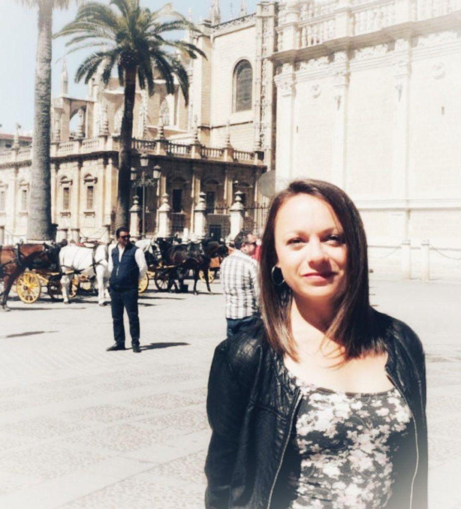 Amandine Lampoignant coordinadora de Hispanofilia para Aandalucía