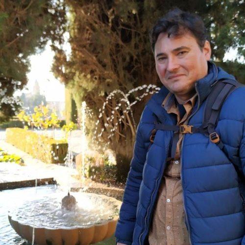 Nacho Martín es fundador de hispanofilia y guía acompañante
