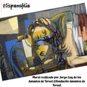 Los viajes culturales por España nos llevan a conocer joyas del arte modernista como el mural de Jorge Gay en la Fundación de los Amantes de Teruel