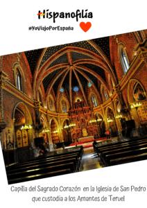 En los viajes culturales por España visitamos lugares de leyenda como la Iglesia que custodia las momias de los Amantes de Teruel