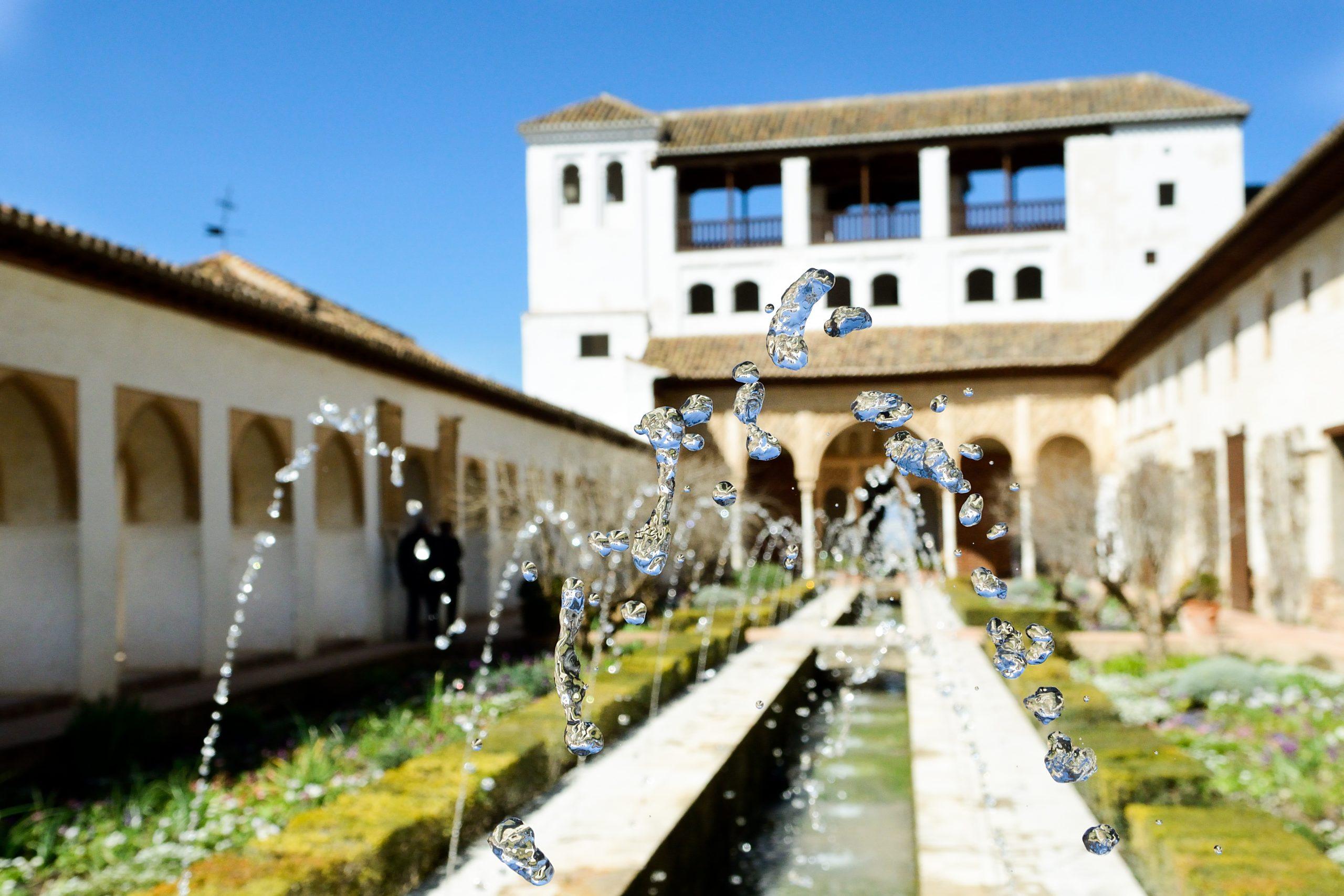 Ela agua de Granada en los viajes culturales desde Madrid
